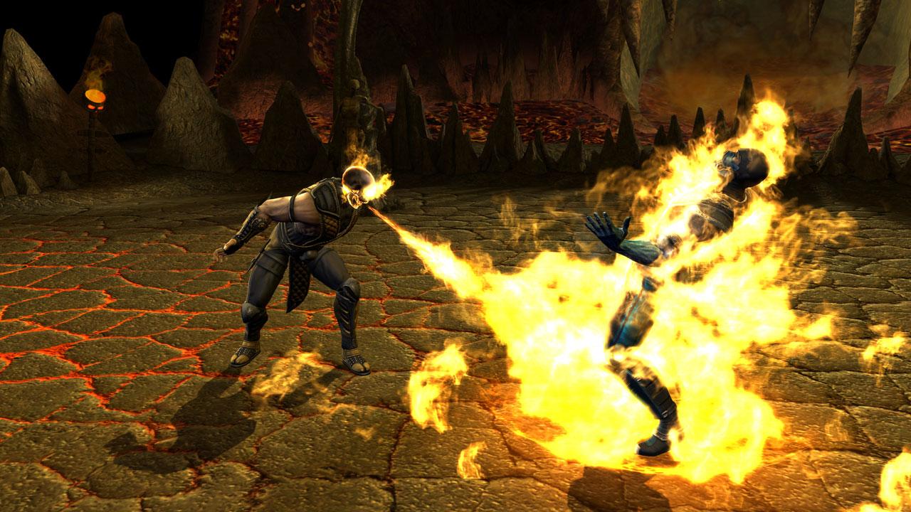 Scorpion Mortal Kombat! (imagenes)
