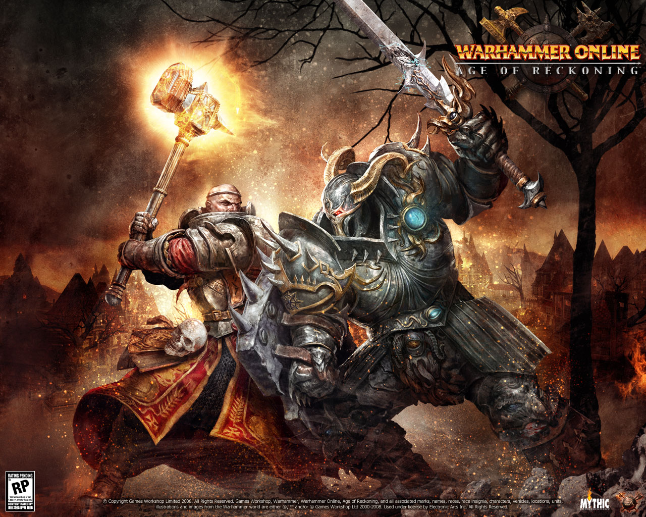 wallpaper mythical themes. Wallpaper de Warhammer Online: Age of Reckoning