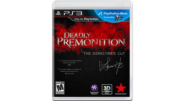 deadly premonition the directors cut caja