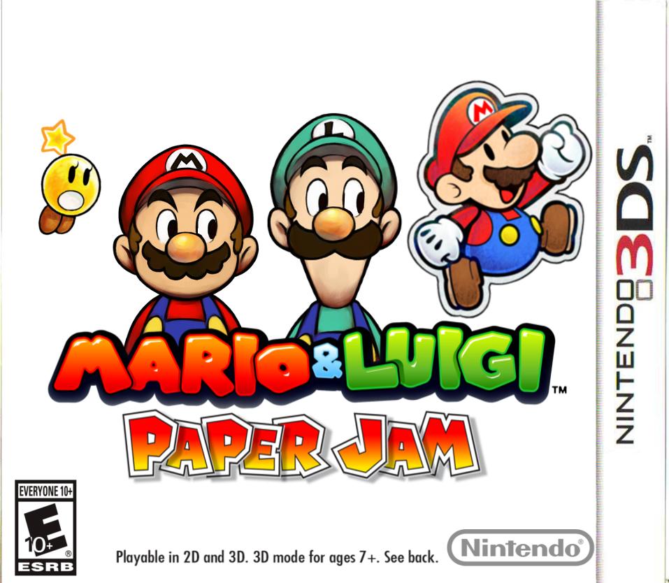 mario and luigi paper jam 3ds