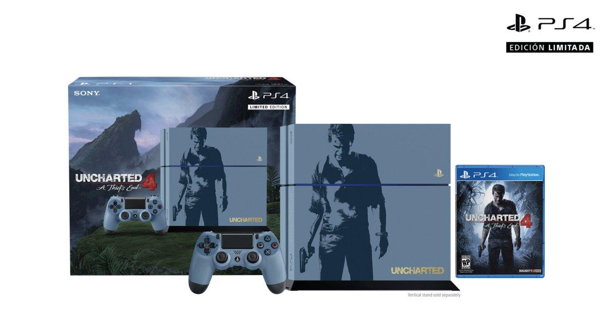 Impresionante bundle de PlayStation 4 edición Uncharted 4: llega el 26 deabril