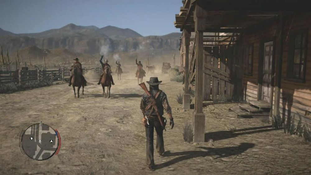 red dead redemption pueblo