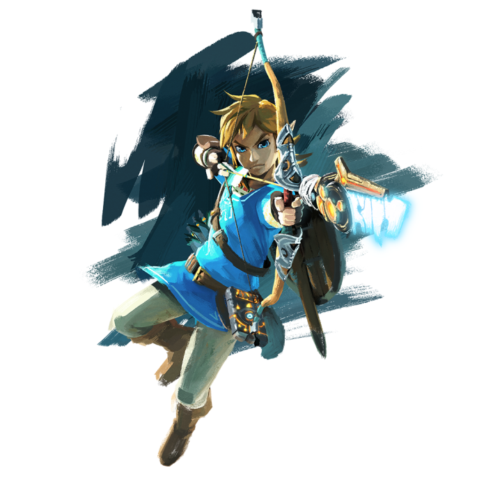 link the legend of zelda nx